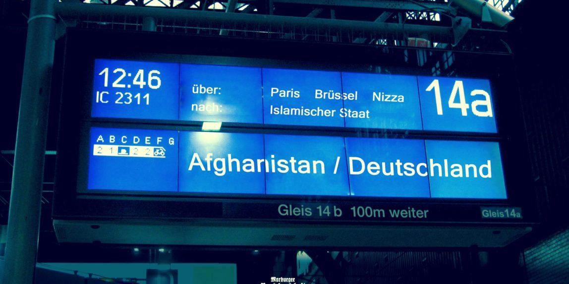 Asylkrise Bahnhof